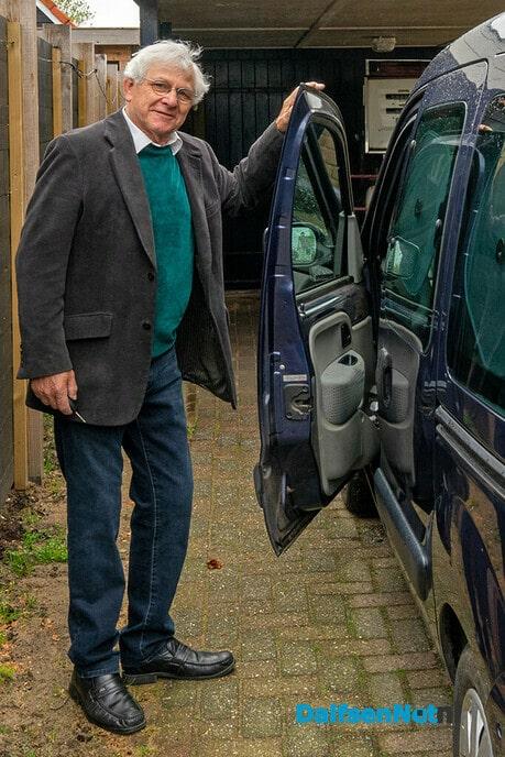 Johan Melenhorst op liefdespad. - Foto: Paul Scholten