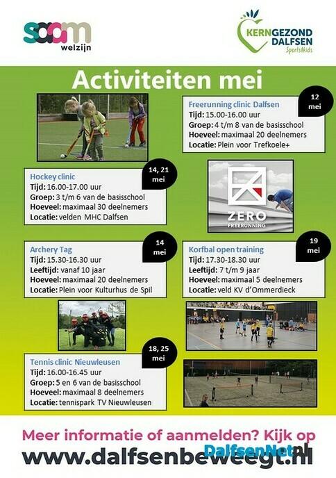 Sports4kids activiteitenkalender mei is uit - Foto: Ingezonden foto