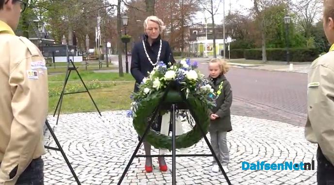 Video dodenherdenking gemeente Dalfsen - Foto: Pim Haarsma