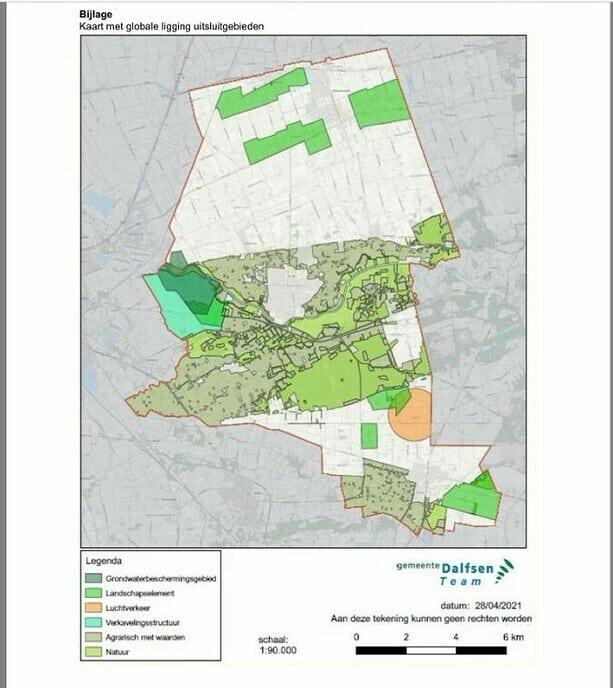 Nieuwe Dalfser spelregels voor zonneparken en windmolens - Foto: Gemeente Dalfsen