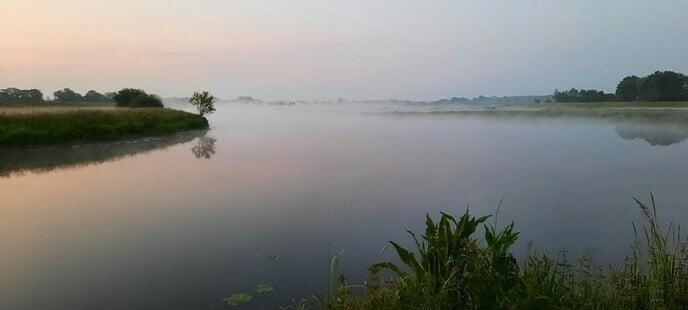 Foto's vroege morgen aan de Vecht - Foto: Ingezonden foto