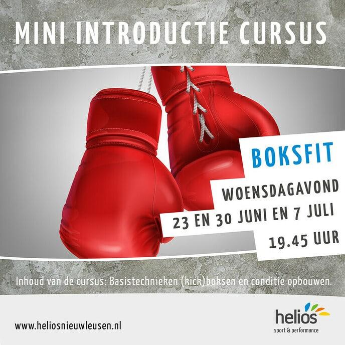 Introductiecursus Kickboksen Helios Nieuwleusen