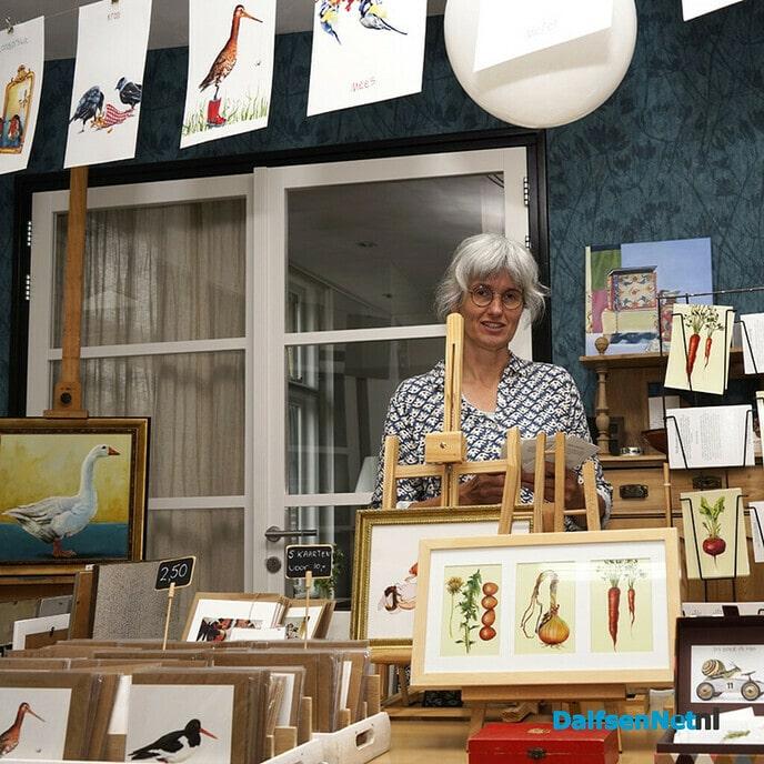 Open Atelierdag bij Fenneke en Heleen Goutbeek - Foto: Paul Scholten