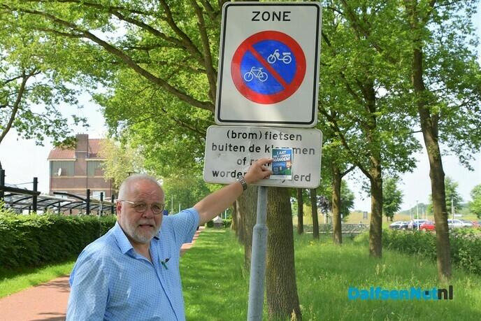 Wethouder start campagne 'Lekker laten hangen!' - Foto: Johan Bokma