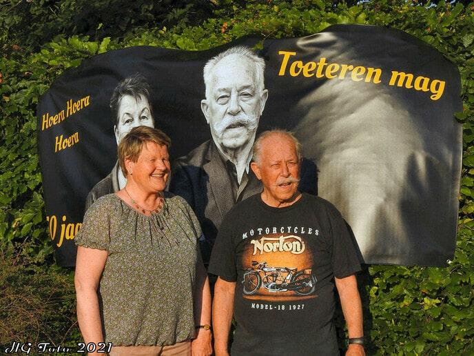 Echtpaar Hoekman 50 jaar getrouwd