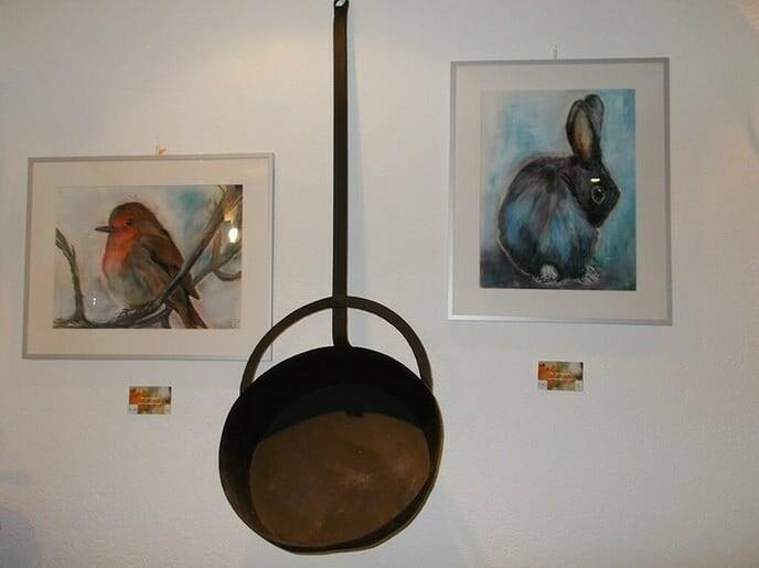 Expositie schilderijen van Dalfsenaar Ria van Hessem - Foto: Ingezonden foto