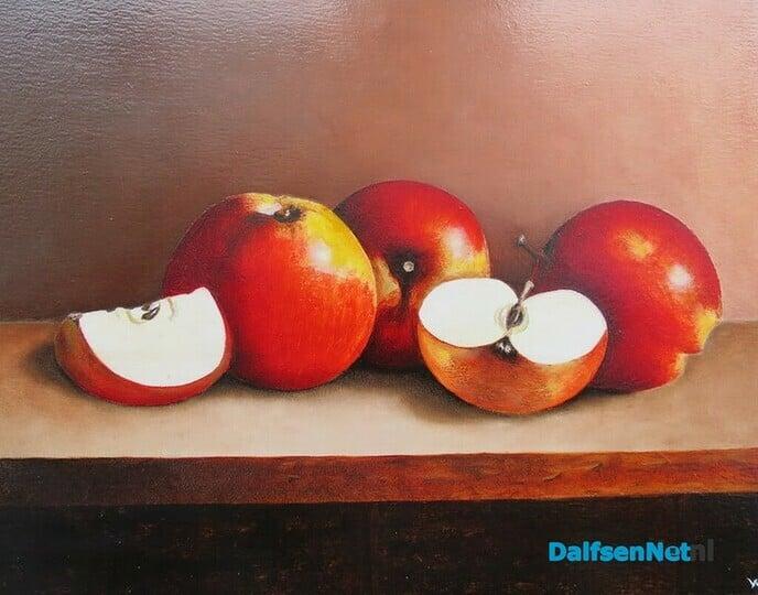 Nieuwe expositie realistische schilderijen in De Mozaïek - Foto: Wim