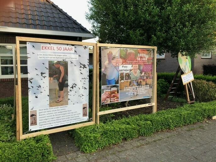 Wim Ekkelenkamp nu een echte veteraan! - Foto: Ingezonden foto