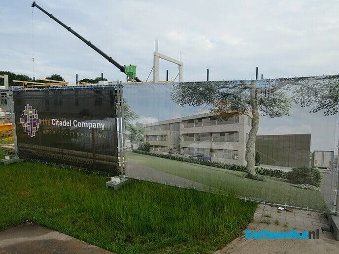 Grote bouwactiviteiten in Lemelerveld - Foto: Wim