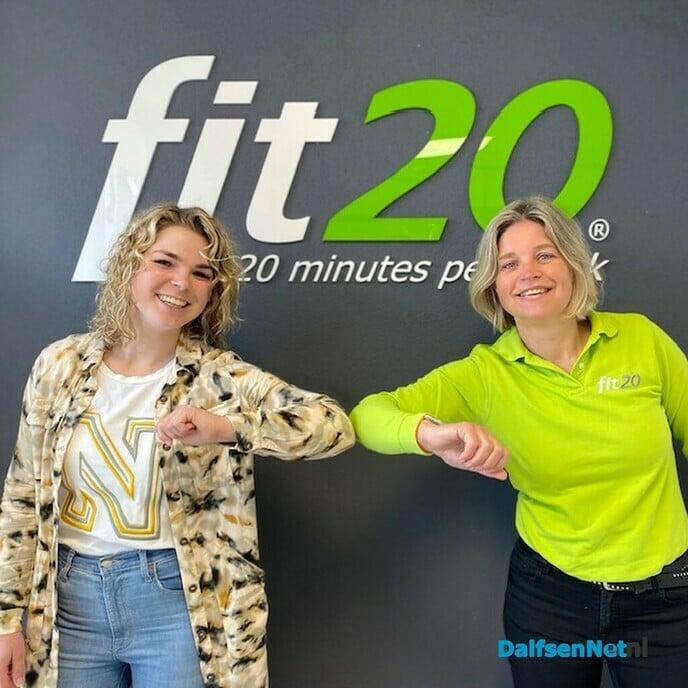 Samenwerkingfit20 Dalfsen enVivacious gewichtsconsulent - Foto: Ingezonden foto