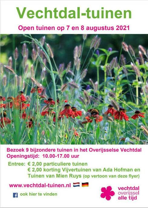 Open tuinen weekend Vechtdal-tuinen