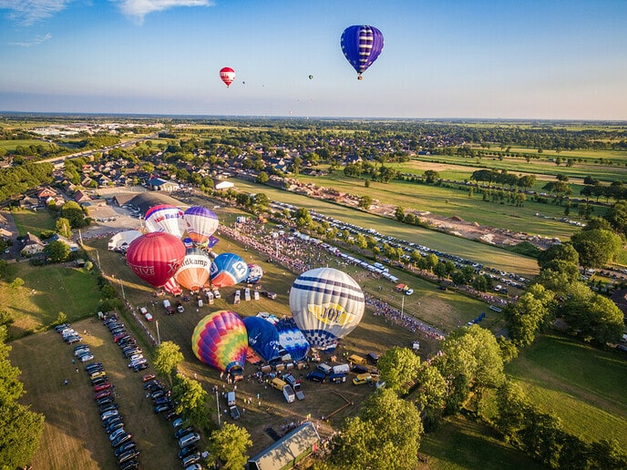Balloonfair Staphorst komt buurten - Foto: Ingezonden foto