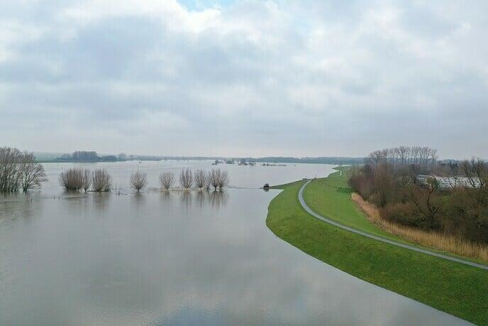 Geen problemen door hoogwater op de IJssel verwacht - Foto: Ingezonden foto