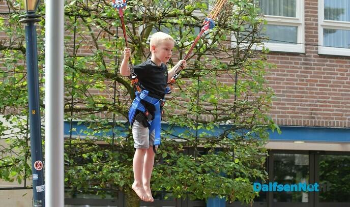 Kinderen genieten tijdens de tweede dolle dag - Foto: Johan Bokma