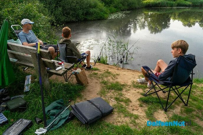 Gezamenlijke hobby: (karper)vissen - Foto: Paul Scholten