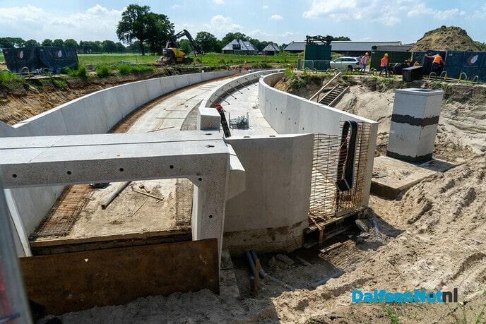 Fietstunnels en asfalteren zuidelijke parallelweg N340 (update) - Foto: Paul Scholten