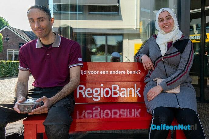 Waar blijft nieuwe Vechtbrugbank - Foto: Paul Scholten
