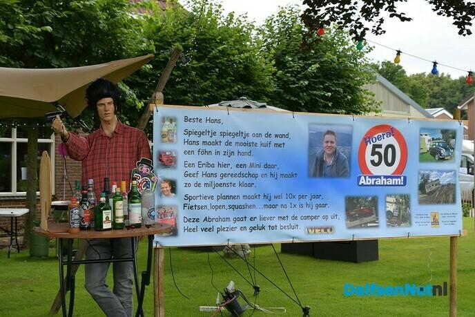 Hans Pekkeriet 50 jaar - Foto: Johan Bokma