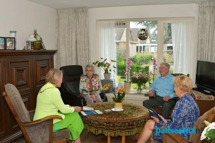 Henk en Riek Ankersmit 75 jaar getrouwd - Foto: Johan Bokma