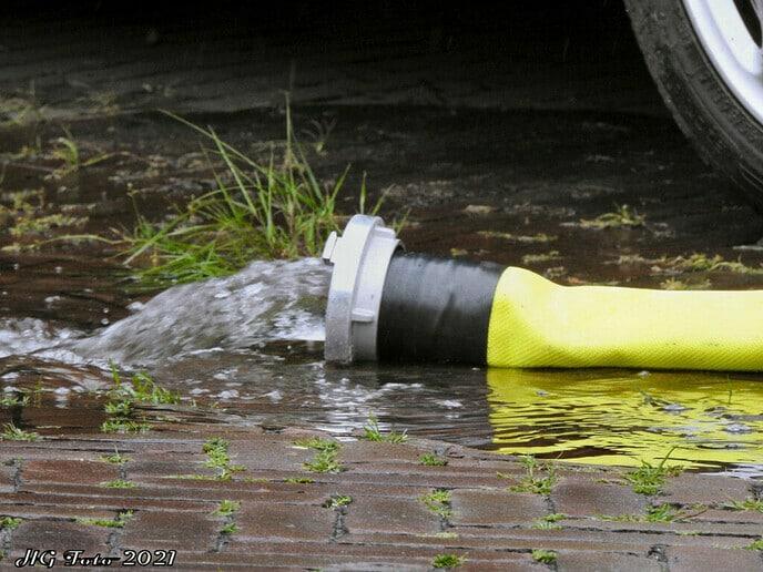 Ook nog wateroverlast in Dalfsen