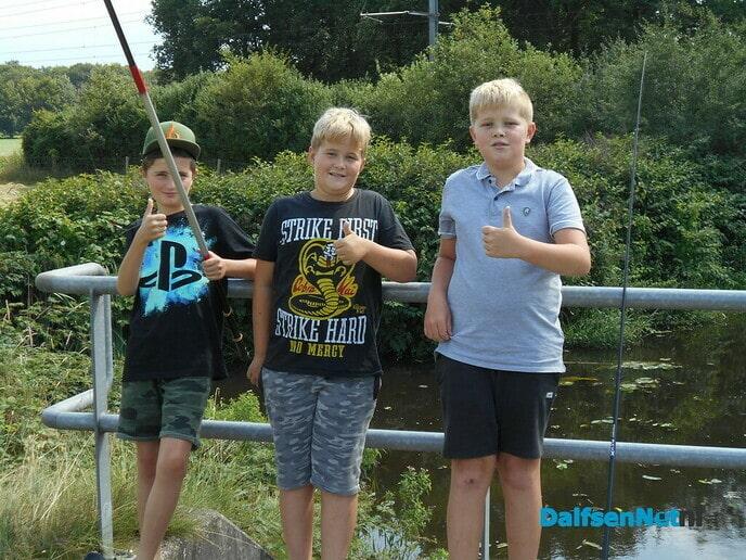 Vissen in de vakantie