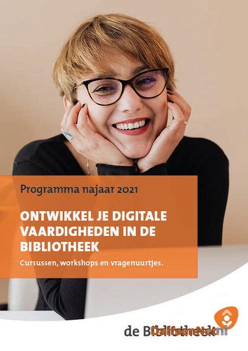 Nieuwe (gratis) cursusaanbod Bibliotheek najaar 2021 - Foto: Ingezonden foto