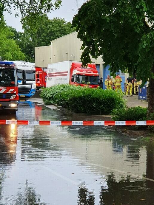 Update Dalfsen getroffen door wolkbreuk, wateroverlast in straten en huizen