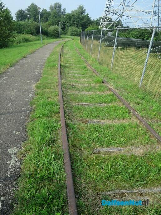 Het spoor loopt dood, de trein komt niet terug - Foto: Wim