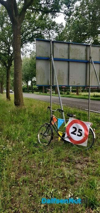 Halve sarah fiets kwijt - Foto: Ingezonden foto