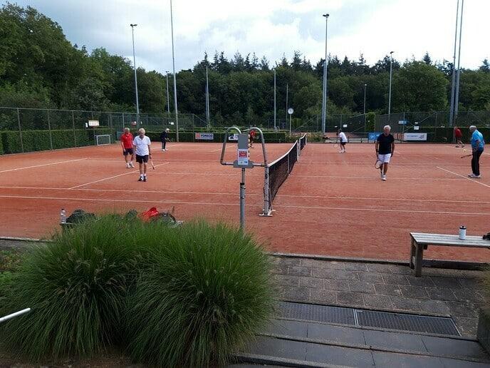 Donderdagmorgen competitie Tennis DLTC Gerner - Foto: Ingezonden foto