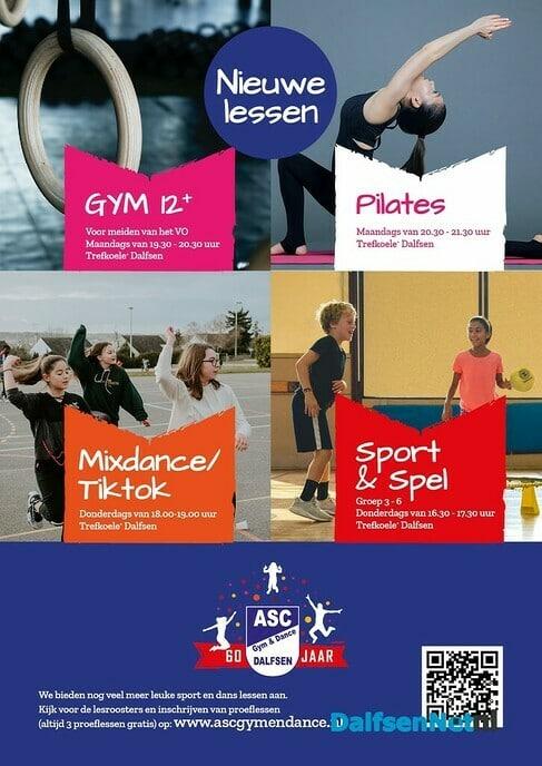 Welkom op de nieuwe sportlessen van ASC Gym & Dance - Foto: Ingezonden foto