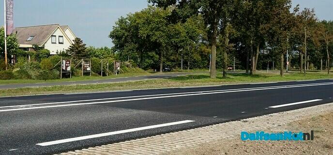 """""""Fluisterstil"""" asfalt op N340 - Foto: Paul Scholten"""