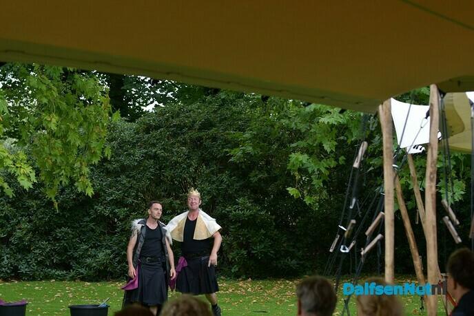 'Macbeth' in de tuin van kasteel Rechteren - Foto: Johan Bokma