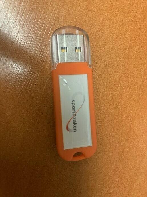 USB stick gevonden - Foto: Ingezonden foto