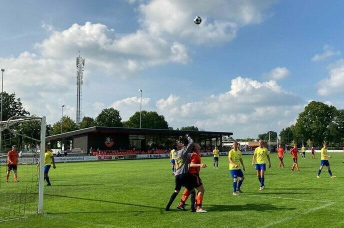 S.V. Nieuwleusen wint van Hattem en bekert verder - Foto: Ingezonden foto