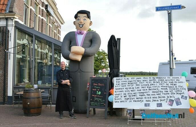 Marco de Vries 50 jaar - Foto: Johan Bokma