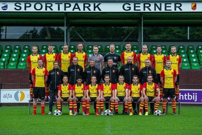 SV Dalfsen en trainer Jacob Grooten na dit seizoen uit elkaar - Foto: eigen geleverde foto