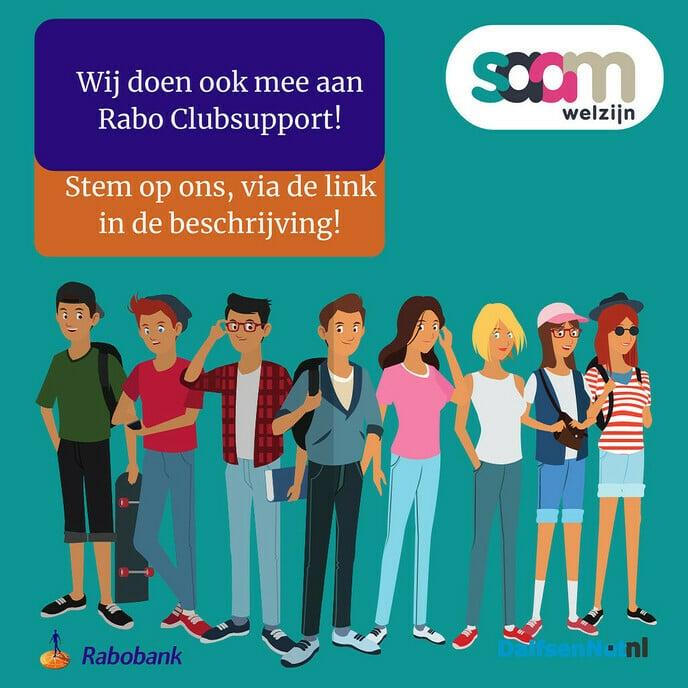 Saam Welzijn Rabo Clubsupport - Foto: Ingezonden foto