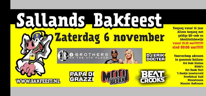Sallands Bakfeest gaat door!!! - Foto: Ingezonden foto