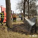 Twee bermbranden in Nieuwleusen.