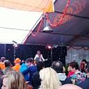 Hoogtepunt Oranje feest Hoonhorst optreden Erwin Nijhoff