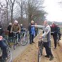 Cursus van de vrienden van Dalfsen afgesloten met een fietstocht.