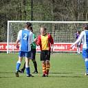 Hoonhorst wint de derby in Dalfsen met 0-1.