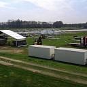 Klaas Agricola helemaal in zijn sas met zijn evenementen terrein