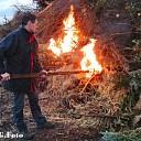 Paasvuur Oudleusen in de brand