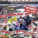 """Zaterdag 20 April """"Pitstopdag"""" bij Ten Kate Motoren in Nieuwleusen."""