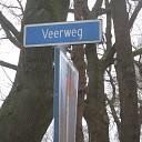 Veerweg en fietspad Hessum