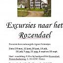 """Agnes heeft excursie Landgoed """"Het Rozendael"""""""