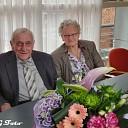Echtpaar Zieleman-Visscher 60 jaar getrouwd
