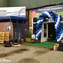 Opening nieuwe winkel Veerman tuingereedschap.